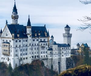 fairytale, king, and mansion image