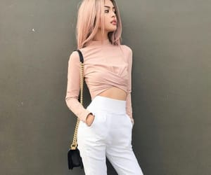 beauty, style, and fashion image