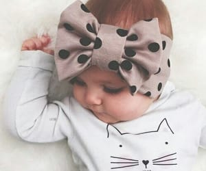 baby, cat, and kids image