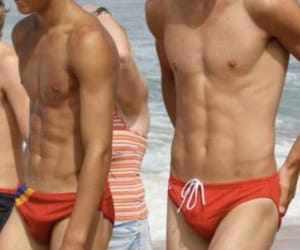 beach, speedo, and summer image