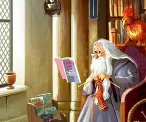 books, harry potter, and silente dumbledore image