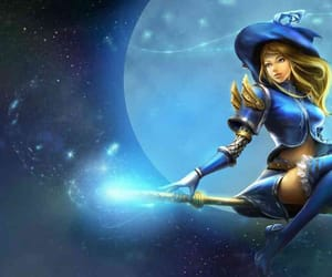 lol, lux, and sorceress image