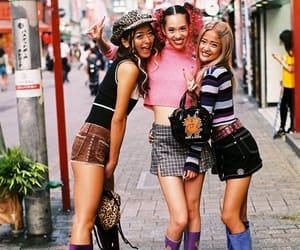 girls, Harajuku, and japanese fashion image