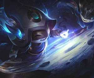 cosmic, enchantress, and league of legends image