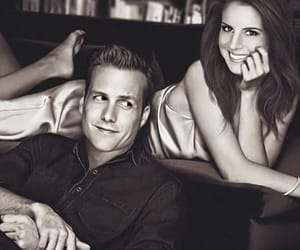suits, harvey specter, and donna paulsen image