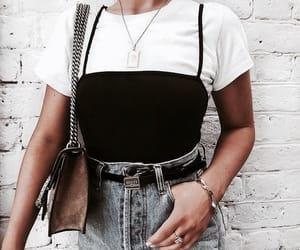 fashion, handbag, and outfit image