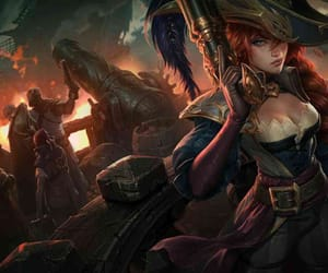 captain, lol, and fortune image