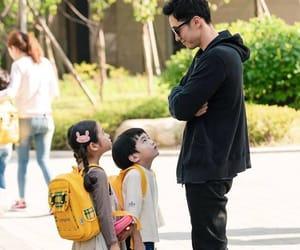 child, korean, and man image