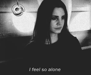 alone, soft grunge, and lana del rey image