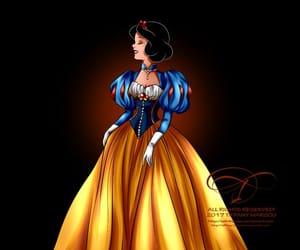 disney, mode, and princesse image