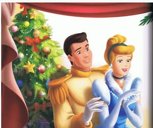 cendrillon, christmas, and cinderella image