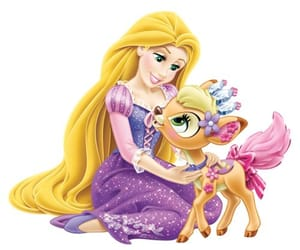 gleam, princess, and rapunzel image