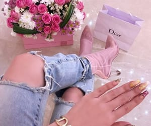 amazing, fashion, and skinny ripped jeans image