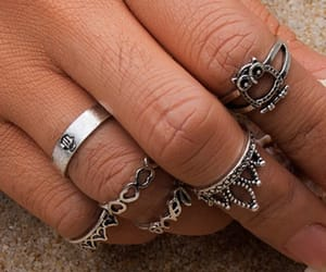 crown, jewelry, and rings image