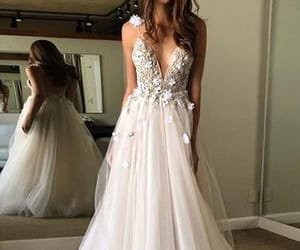 Dream, dress, and hair image