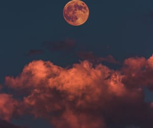 Dream, moon, and nature image