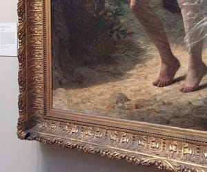 aesthetic, feet, and frame image