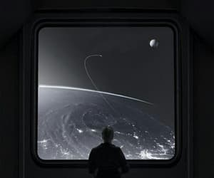 beautiful, black, and sky image