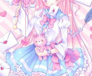 anime, cupid, and kawaii image
