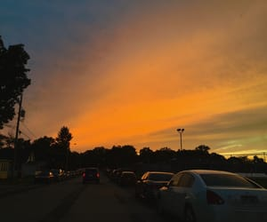 aesthetic, photography, and sky image
