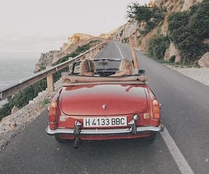 adventure, car, and red image