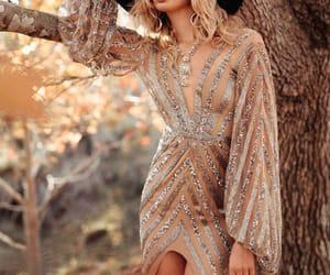 belleza, elegancia, and glitter image