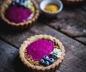 blueberry, food photography, and sweets image