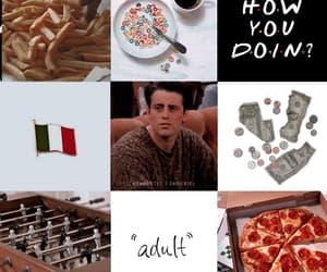aesthetic, Collage, and joey tribbiani image