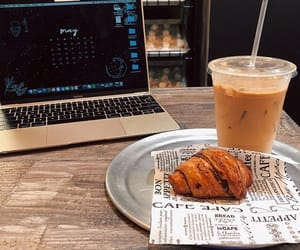 chill, coffee, and food image