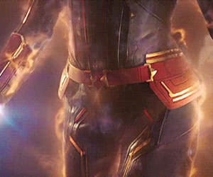 Avengers, Marvel, and carol danvers image