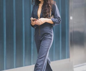 brunette, outfits, and street style image