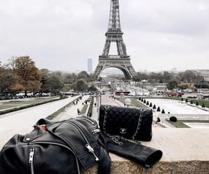 chanel, eiffeltower, and goals image