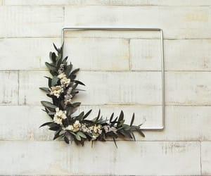 wall hanging, wedding wreath, and scandinavian wreath image