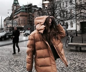 clothes, fashion, and coat image