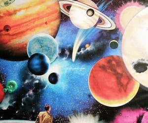 astrology, gif, and planet image