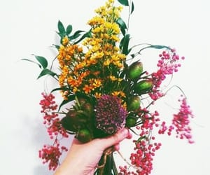 beautiful, pretty, and bouquet image