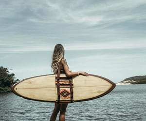 board, girl, and relax image