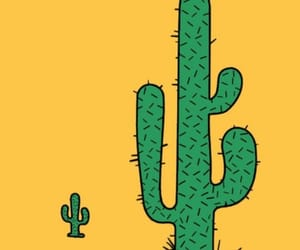 aesthetic, nature, and cactus image