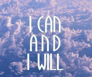 i can, purple, and sky image