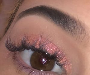 aesthetic, baby pink, and eyes image