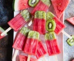 ice-cream and watermelon image