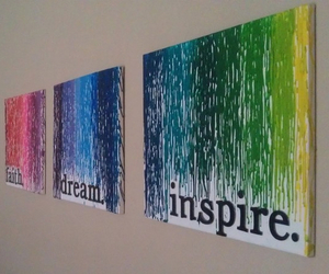 Dream, inspire, and art image
