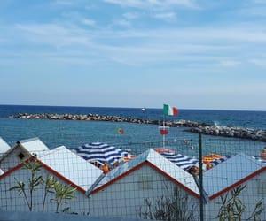 ete, drapeau, and italie image
