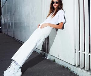 fashion, style, and all white image