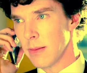gif, Martin Freeman, and benedict cumberbatch image
