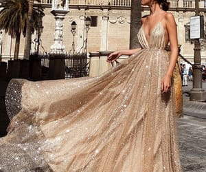 beauty, dress, and formal image
