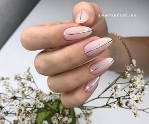 art, girl, and nail image