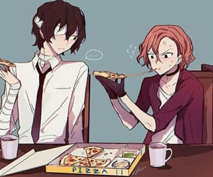 chuuya, bungou stray dogs, and dazai image