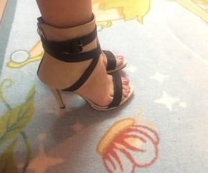 beautiful, heels, and high heel image