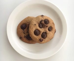 bakery, cafe, and chocolate chip cookies image